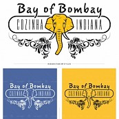 Logodesign für Bay of Bombay, Indisches Restaurant in Porto, Portugal