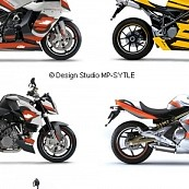 Powerstyle – motorbike decal sets