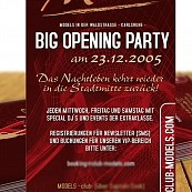Club Models : Big Opening Party Flyer